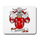 Machado Family Crest Mousepad