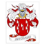 Machado Family Crest Small Poster