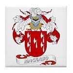 Machado Family Crest Tile Coaster