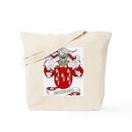 Machado Family Crest Tote Bag