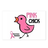 Pink Chick 2 Postcards (Package of 8)