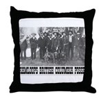 Kamloops Posse Throw Pillow