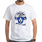 Marti Family Crest White T-Shirt