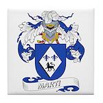 Marti Family Crest Tile Coaster