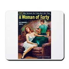 "Mousepad - ""A Woman of Forty"""