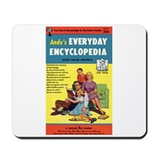 "Mousepad - ""Andy's Encyclopedia"""
