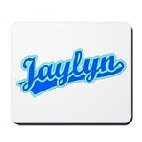 Retro Jaylyn (Blue) Mousepad