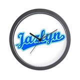 Retro Jazlyn (Blue) Wall Clock