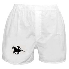 barrel racing Boxer Shorts