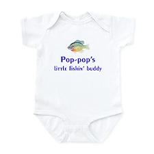 pop-pop's fishin' buddy Infant Bodysuit