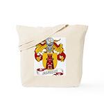 Meneses Family Crest Tote Bag