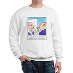 Receding Gum Comb-over Sweatshirt