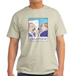 Receding Gum Comb-over Light T-Shirt