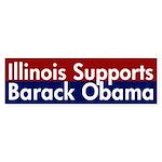 Illinois for Obama Bumper Sticker
