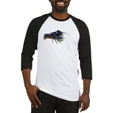 Blue Crayfish Baseball Jersey