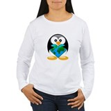 Tux hold the world T-Shirt