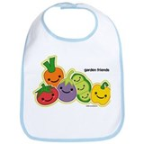Garden Veggie Friends Bib