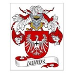 Munoz Family Crest Small Poster