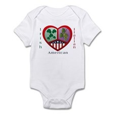 Irish Italian Love Infant Creeper