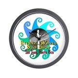 Eternal Waves Wall Clock