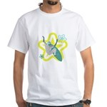 SURFTASTIC White T-Shirt