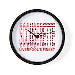 Scouserette Wall Clock