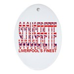 Scouserette Oval Ornament