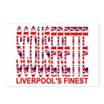 Scouserette Postcards (Package of 8)