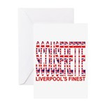 Scouserette Greeting Card