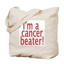 Cancer Beater Tote Bag
