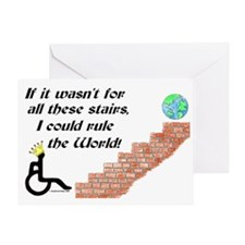 Rule The World Greeting Card