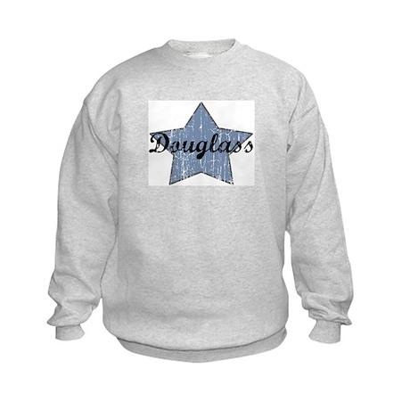 Douglass (blue star) Kids Sweatshirt