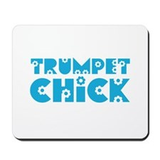 Trumpet Chick Mousepad