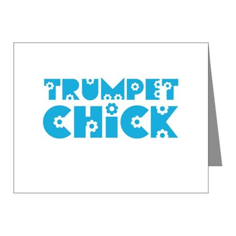 Trumpet Chick Note Cards (Pk of 10)
