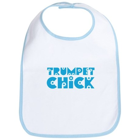 Trumpet Chick Bib