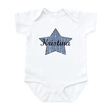 Kristina (blue star) Infant Bodysuit