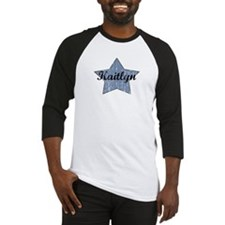 Kaitlyn (blue star) Baseball Jersey