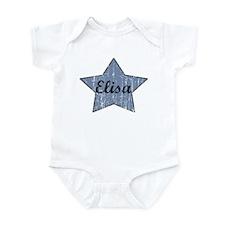 Elisa (blue star) Infant Bodysuit