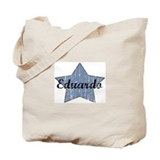 Eduardo (blue star) Tote Bag