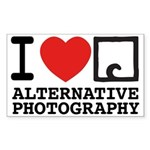 AlternativePhotography.com Rectangle Sticker