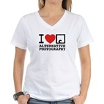 AlternativePhotography.com Women's V-Neck T-Shirt