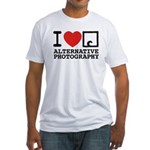 AlternativePhotography.com Fitted T-Shirt