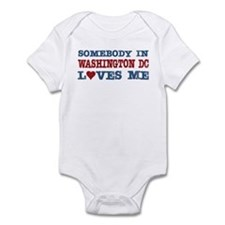 Somebody in Washington DC Loves Me Infant Bodysuit