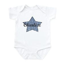 Charlize (blue star) Onesie