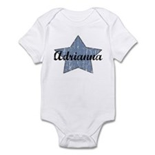Adrianna (blue star) Infant Bodysuit