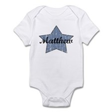 Matthew (blue star) Infant Bodysuit