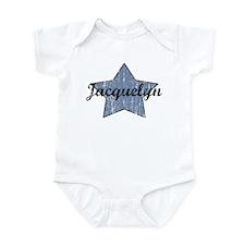 Jacquelyn (blue star) Onesie