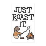 Just Roast It Rectangle Sticker 10 pk)