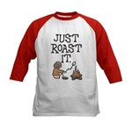 Just Roast It Kids Baseball Jersey
