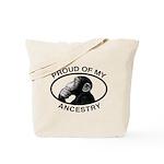 Proud of my Ancestry Chimp Tote Bag